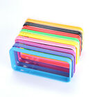 Stylish Colored TPU Gel Skin Frame Bumper Cover Case For Apple iphone 5C