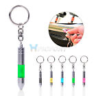 Car Auto Anti-static Elimination Discharger Releaser keychain Chain Bullet