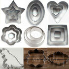 Cake Stainless Fondant Cutter Biscuit Cookies Pastry Baking Mold Sugarcraft