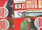 Manchester United HOME programmes 1968/69 1969/70 choose from list FREE UK P&P