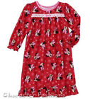 MINNIE MOUSE 12 18 24 Months 2T 3T 4T 5T Girls NIGHTGOWN PAJAMAS PJS Flannel