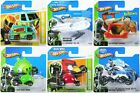 Hot Wheels ANGRY BIRDS FLINTSTONES MAX STEEL MYSTERY MACHINE toy cars - NEW!