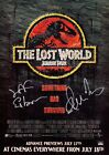 JURASSIC PARK Lost World SIGNED Autographed PHOTO Print POSTER Jeff Goldblum 001