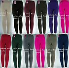 CABLE KNIT FOOTLESS FLEECE TIGHTS Stretch Leggings TX200 ONE SIZE fits S,M,L,XL
