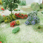 MP SCENERY Flower Bushes O HO Scale Architectural Tree Trees Railroad Layouts