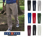 Jerzees Adult NuBlend Open-Bottom Sweatpants w/ Pockets S-3XL gym workout  974mp