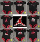 New Air Jordan Jumpman Infant Baby Boys Black One Piece Bodysuit 9-12 Month
