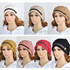 HOT Fashion Women Warm Rageared Baggy Beanie Knit Crochet Ski Hat Braided Cap