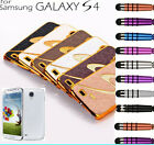 SAMSUNG GALAXY S4 Luxury Cases with Free Screen Protector and Mini Stylus