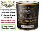 General Finishes ENDURO VAR -  Professional quality water based varnish 473ml