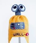 Walle Earflap Hat from Disney, Knit / Crochet Robot Laplander Beanie baby-adult