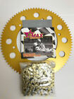 Kart 110  Link Gmax Chain & Sprocket Offer The Best Price - Rotax - TKM - Honda