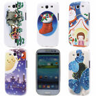 Christmas Gift Butterfly Sock Hard Back Case Cover for Samsung Galaxy S3 i9300