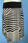 Maternity fold down skirt size 8 - 16 Black NEW best value