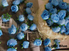 100pcs Roses Artificial Silk Flower Heads Wholesale Lot Party Wedding Home Decor