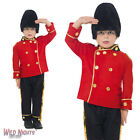FANCY DRESS COSTUME # CHILD BOYS BUSBY GUARD ROYAL SOLDIER UNIFROM AGE 4-12