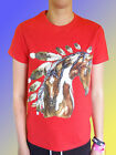 NEW HORSE T-SHIRT - Indian Inspired Mare & Foal