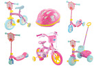 "Choose from NEW Peppa Pig Bike, Trike, Scooter, Balance Bike, 10"" Bike skates"