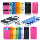 PREMIUM QUALITY S-VIEW SMART COVER FLIP CASE FOR VARIOUS SAMSUNG GALAXY PHONES