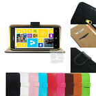 F Wallet PU Flip Leather Case Stand Cover Purse Pouch Sleeve For Nokia Lumia 625