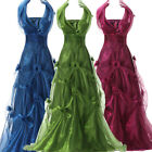 Formal Long Evening Party Bridesmaid Dress Prom Ball Gown Size 2 4 6 8 10 12 14+