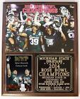 Michigan State Spartans 2014 Rose Bowl Champions