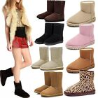 ItS7 Fashion Women Autumn Winter Snow Boots Ankle/Mid-Calf Boots Warm Shoes
