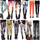 Hot Sexy Skinny Leggings Pencil Pants Galaxy Tights Skeleton Jean Stockings ItS7