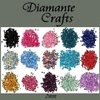300 2mm Diamante Loose Flat Back Rhinestone Craft Gems Choose from 18 Colours