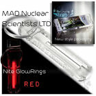 Nite GlowRing - Glow In The Dark - Tritium - Clear Case - Nine Colours Available <br/> Authorised UK stockist of genuine Nite GlowRings