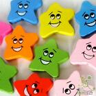 5/20/100 pcs wood flatback/Button lot mixed star smile face craft embellish DIY