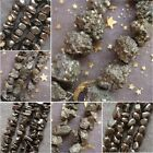 Hot!!! Natural Pyrite Crystal Chip Loose Beads For Necklace Making