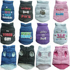 Small Dog / Puppy Fleece Lined Lightweight Jacket Coat Body Warmer Clothes New