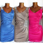 ROBE SEXY GLAMOUR TOP SEQUINS SOIREE T.UNIQUE 36/38 38/40 LUC.CE