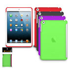 iPAD MINI GEL CASE COVER WORKS WITH ORIGINAL SMART cover