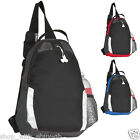 MONO STRAP RUCKSACK BAG TRIANGLE SPORT COLLEGE BACKPACK