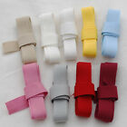 100% Cotton Ribbon Tape Trim - Blank Sewing Label - 1.5cm Wide - Made in Europe