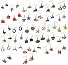 NFL dangle earrings pick your team