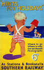 INFANT SEASIDE SCENE Vintage Deco Railway/Travel Poster A1,A2,A3,A4 Sizes