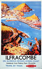 ILFRACOMBE DEVON BR  Vintage Deco Railway/Travel Poster A1,A2,A3,A4 Sizes