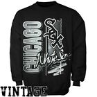 Chicago White Sox Mitchell and Ness Pullover Fleece Crew Neck Shirt on Ebay