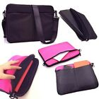 Shoulder Messenger Sleeve Bag 10 & Book-style Stand Case For 7 7.5 8 Tablet