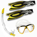 CRESSI FROG PLUS GIALLO+BIG EYES TRASPARENTE/GIALLA+GAMMA GIALLO  01IT