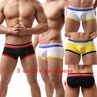 Fashion Sexy Lingerie Men's Underwear Comfortable Boxer Shorts Underpants#WH12