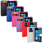 For Nokia Lumia 800 Soft PU Leather Wallet Flip Case Cover