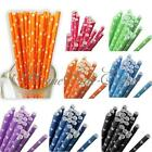 25 Pcs Colorful Star Paper Straws Drinking Straws For Wedding Birthday Party