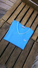 Reebok Ladies/Women`s Short Sleeve T-Shirt Top in NICE BLUE COLOUR.