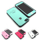 For iPhone 5 5S Jewelled glossy silicone case cover Color Screen Protector Film