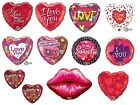 """18"""" Foil Balloons Qualatex - LOVE/AFFECTION/VALETINES/ANNIVERSAY (Helium)"""