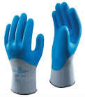 5 Pairs Of Showa 305 Grip Xtra Gloves Latex Coated Safety Work Gardening Gripper